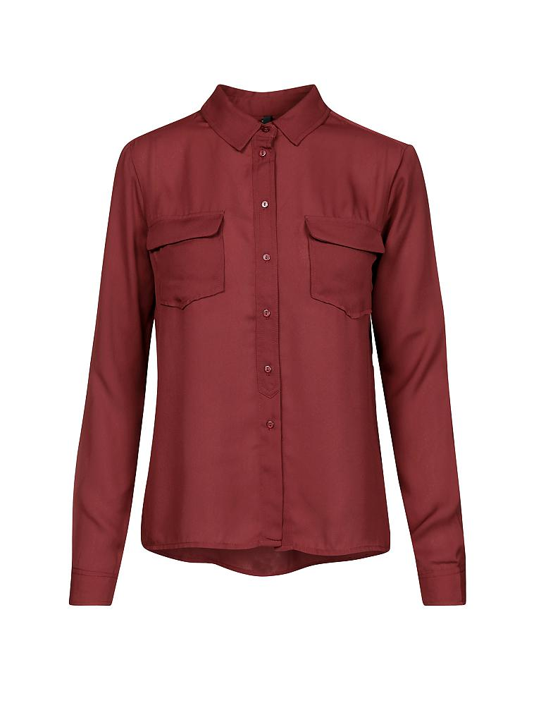 PEPE JEANS | Bluse | rot