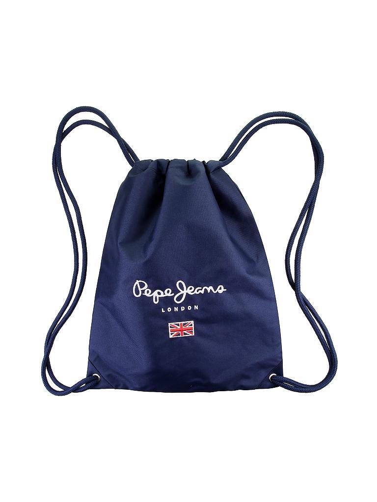 pepe jeans gymnastik tasche blau. Black Bedroom Furniture Sets. Home Design Ideas