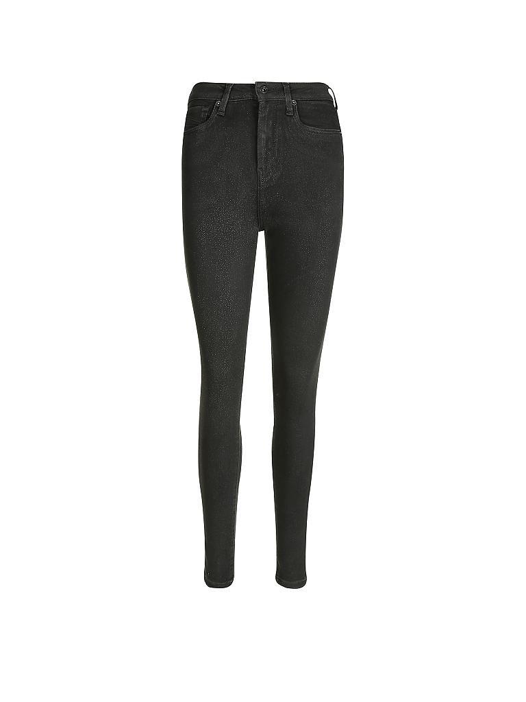 pepe jeans highwaist hose skinny fit dion schwarz 25 l30. Black Bedroom Furniture Sets. Home Design Ideas