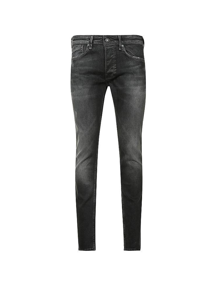 pepe jeans jeans regular fit zinc schwarz w29 l32. Black Bedroom Furniture Sets. Home Design Ideas