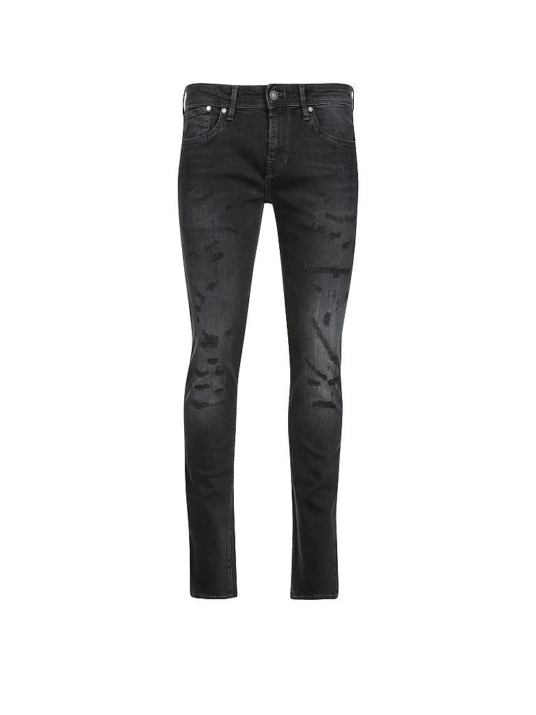 pepe jeans jeans slim fit hatch schwarz w29 l32. Black Bedroom Furniture Sets. Home Design Ideas