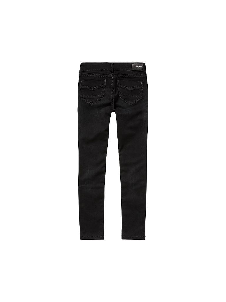 pepe jeans jeans slim fit pixlette powerflex schwarz 140. Black Bedroom Furniture Sets. Home Design Ideas