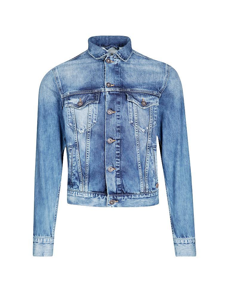 pepe jeans jeansjacke slim fit blau m. Black Bedroom Furniture Sets. Home Design Ideas