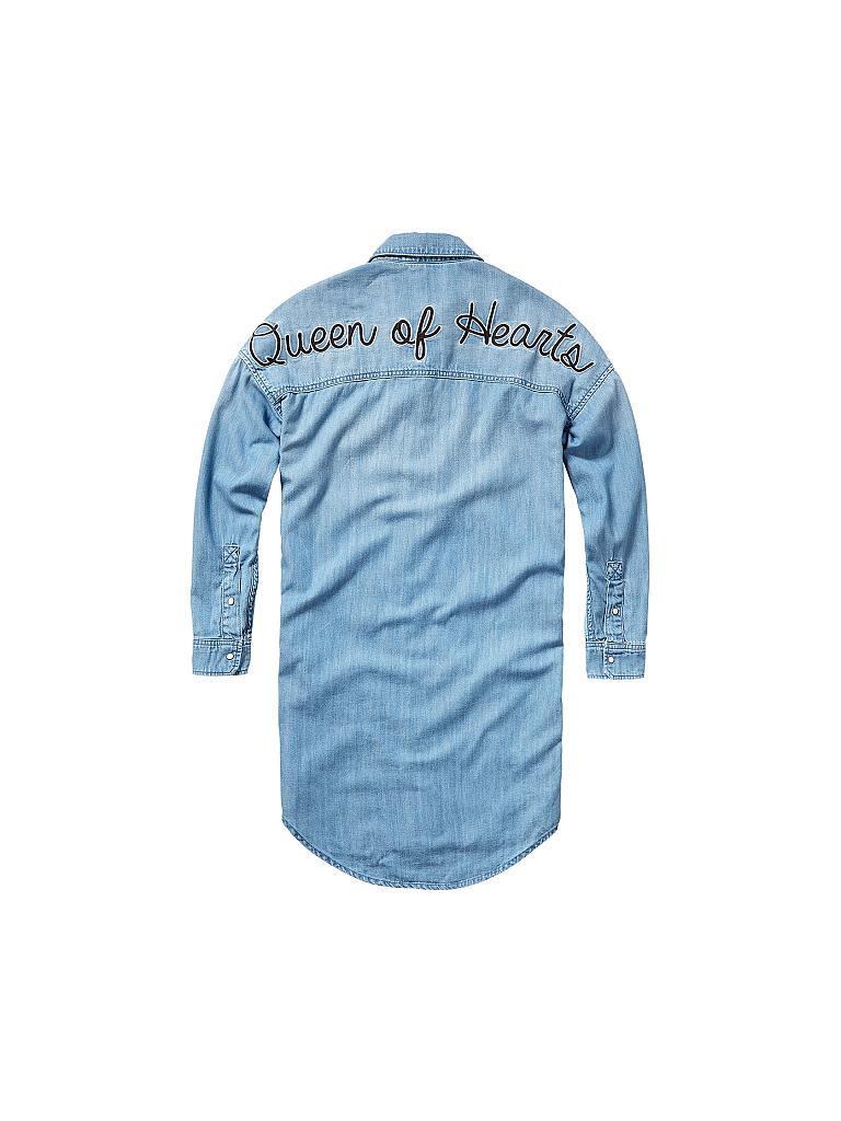 Pepe Jeans Madchen Jeanskleid Blau 128