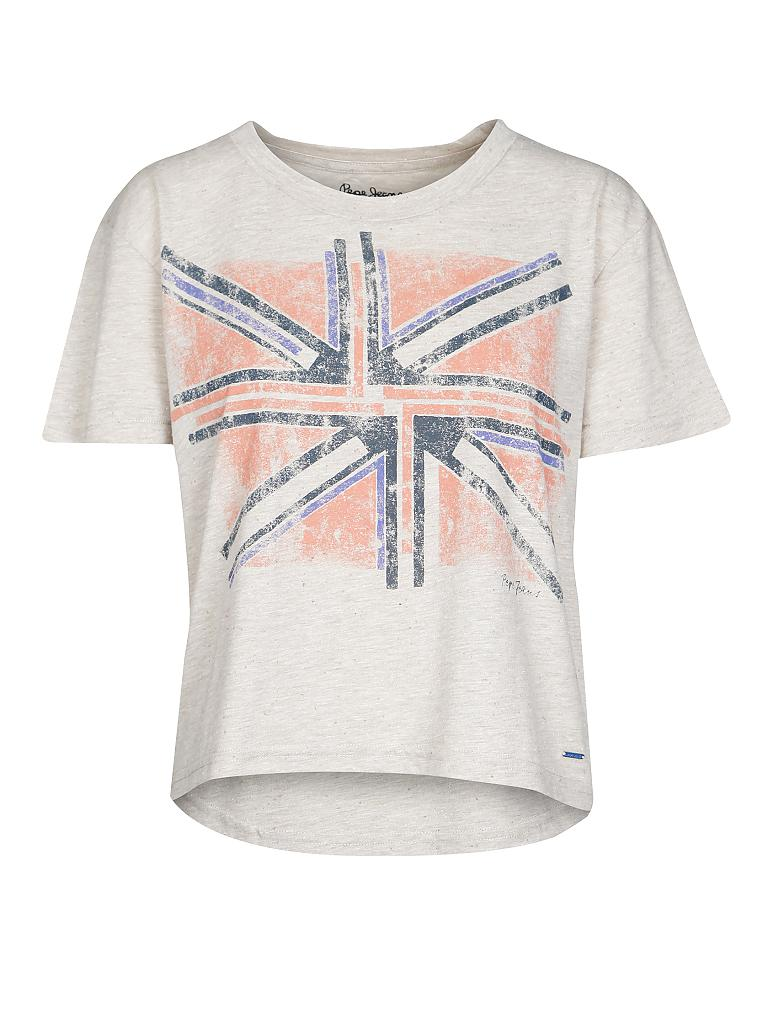 PEPE JEANS | T-Shirt Boxi-Fit | beige