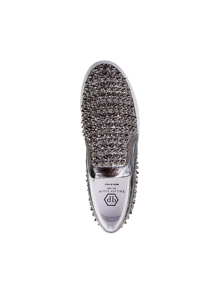 117e4a0b3b97c1 PHILIPP PLEIN Schuhe silber
