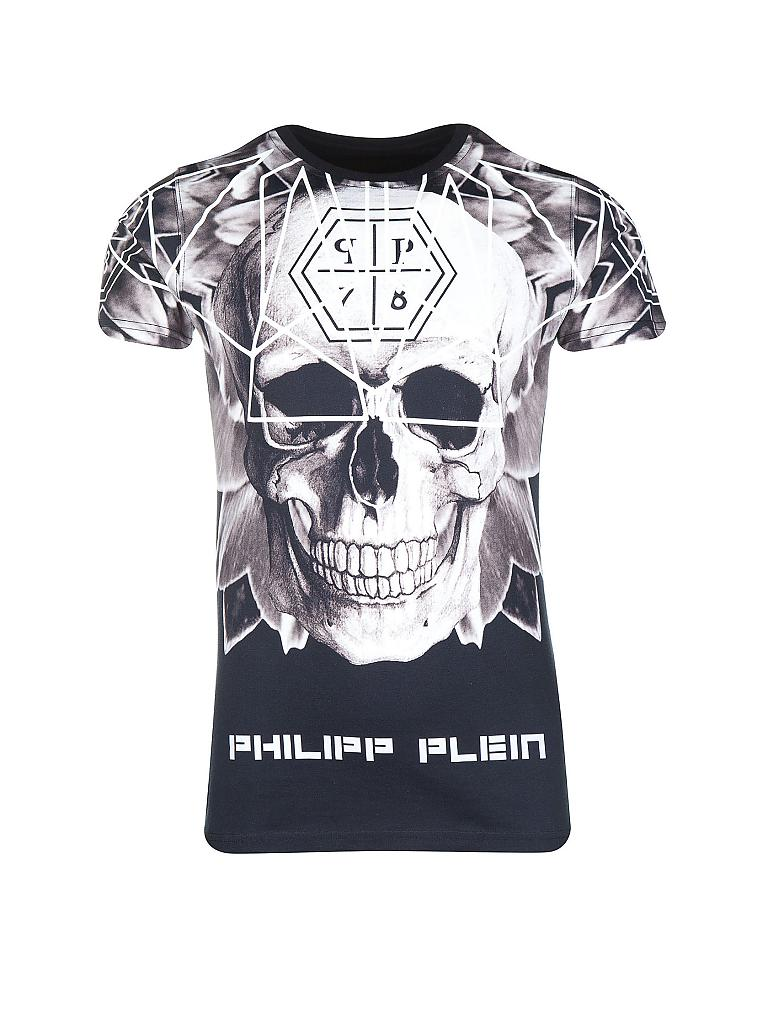 philipp plein t shirt schwarz s. Black Bedroom Furniture Sets. Home Design Ideas