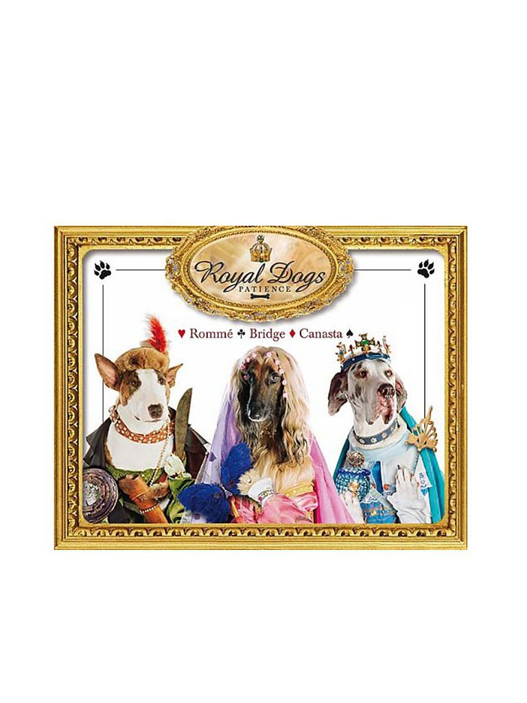 PIATNIK Royal Dogs Patience Rommé - Bridge Canasta