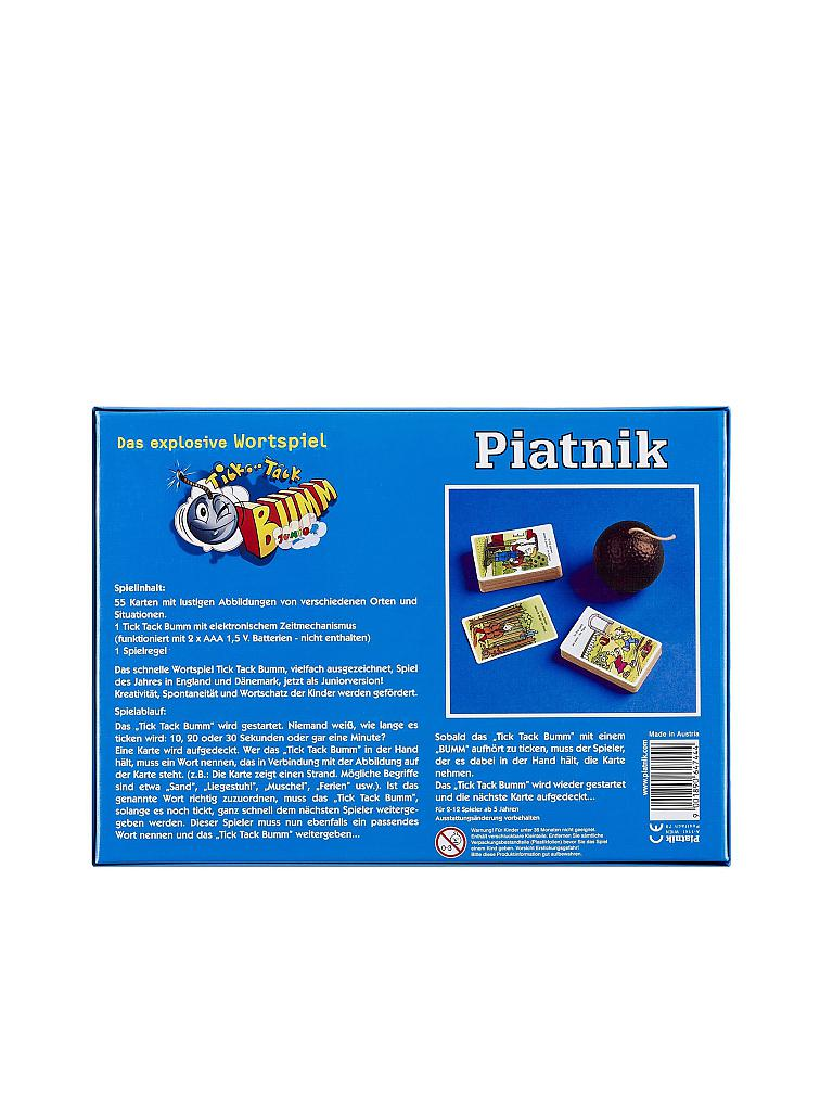 PIATNIK | Tick Tack Bumm Junior | transparent