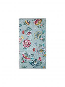pip studio handtuch berry bird 55x100cm blau blau. Black Bedroom Furniture Sets. Home Design Ideas