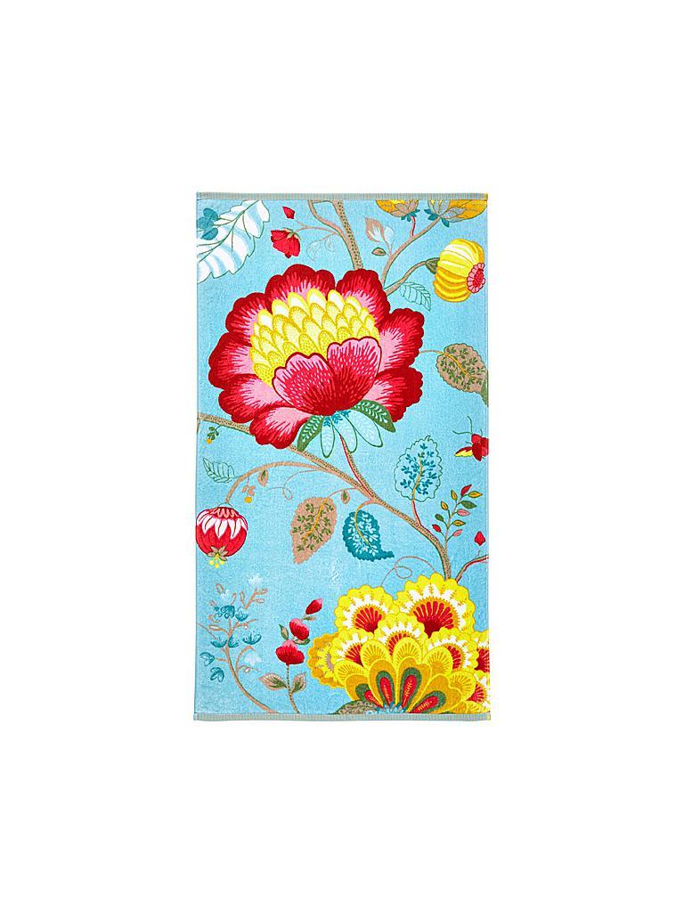 pip studio handtuch floral fantasy 55x100cm light petrol t rkis. Black Bedroom Furniture Sets. Home Design Ideas