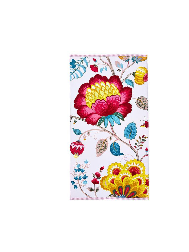 pip studio handtuch floral fantasy 55x100cm star white wei. Black Bedroom Furniture Sets. Home Design Ideas