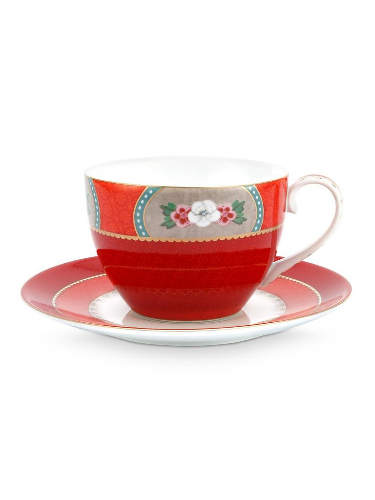 "PIP STUDIO | Kaffeetasse mit Untertasse 280ml ""Blushing Birds"" 