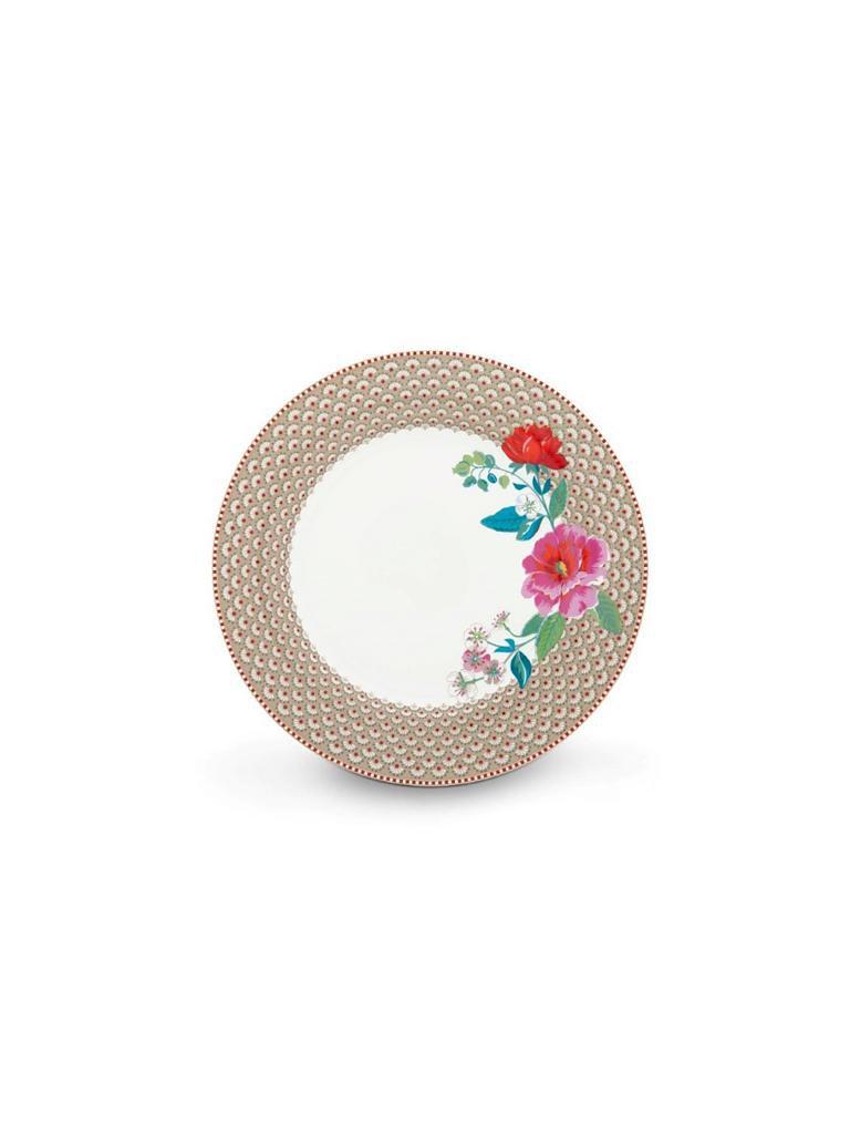 pip studio speiseteller floral rose 26 5cm beige. Black Bedroom Furniture Sets. Home Design Ideas
