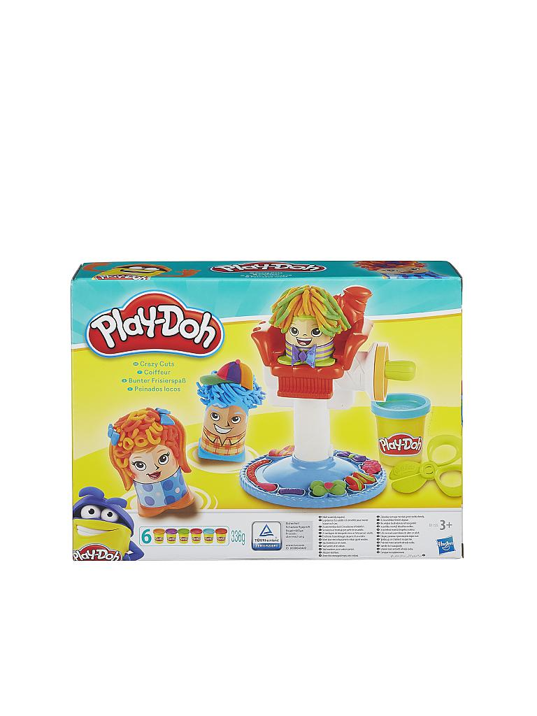 PLAY-DOH | Bunter Frisierspass | transparent
