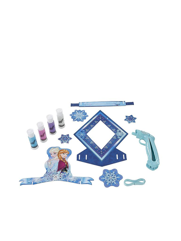 PLAY-DOH | DohVinci - Disney Frozen - Die Eiskönigin - Türschild Bastel-Set | transparent
