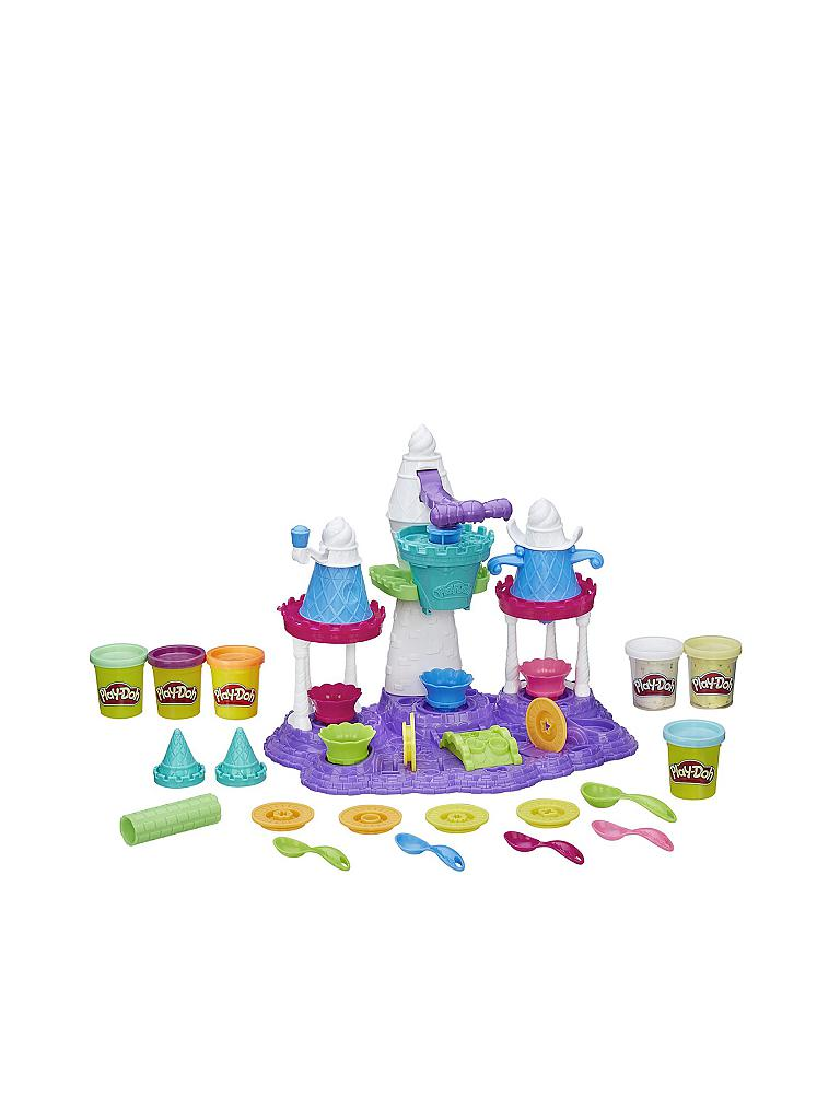 PLAY-DOH | Eiscreme Schloss | transparent