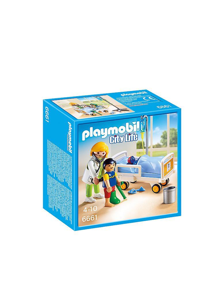 Playmobil 196 rztin am kinderkrankenbett transparent