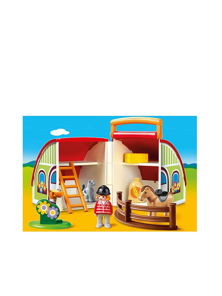 PLAYMOBIL Mein Mitnehm-Reiterhof 70180 Playmobil