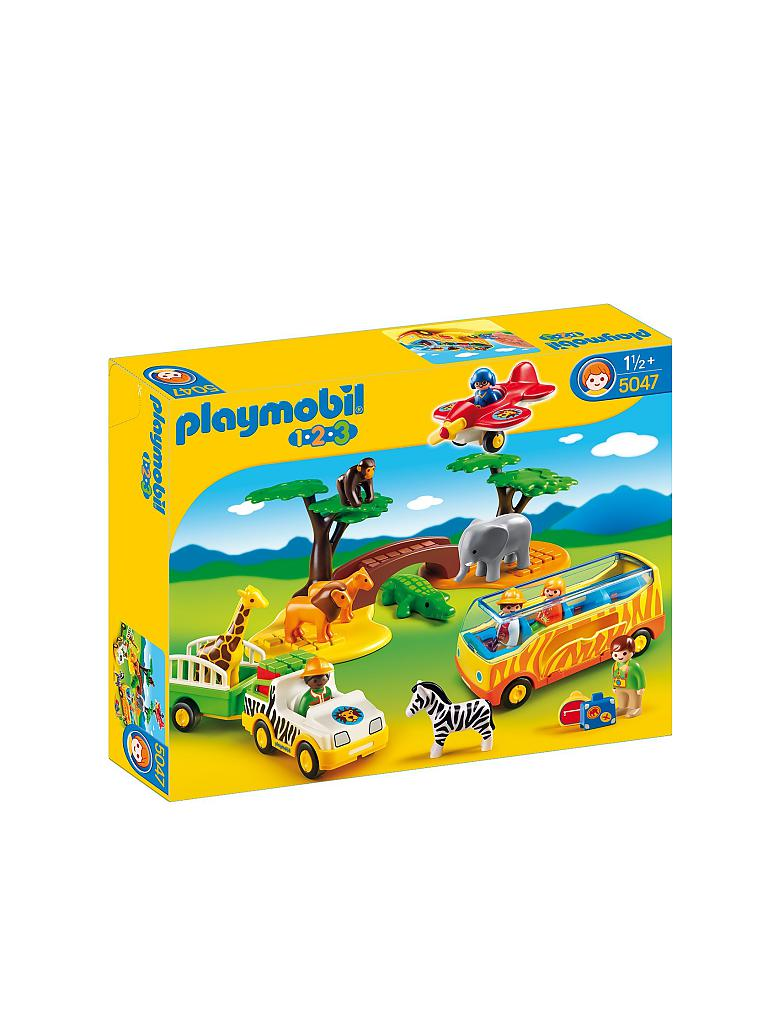 PLAYMOBIL | 1,2,3 - Große Afrika Safari | transparent