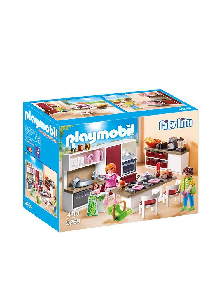 PLAYMOBIL Grosse Familienküche 9269