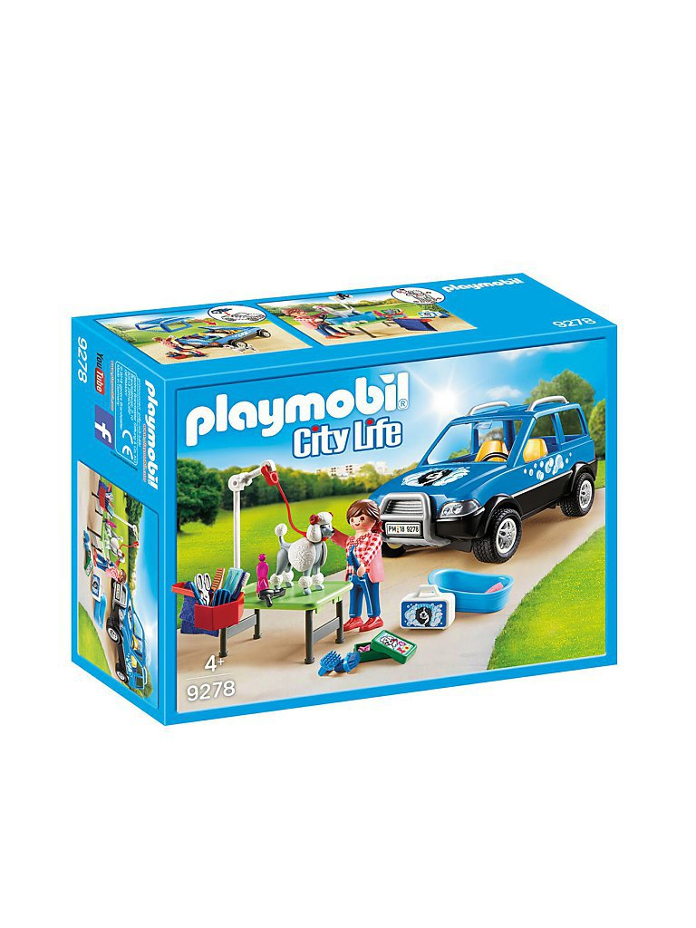 PLAYMOBIL Mobiler Hundesalon 9278