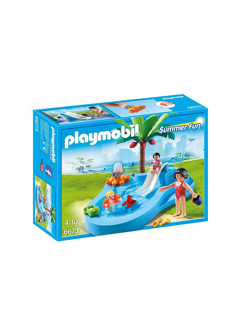 PLAYMOBIL | Babybecken mit Rutsche | transparent