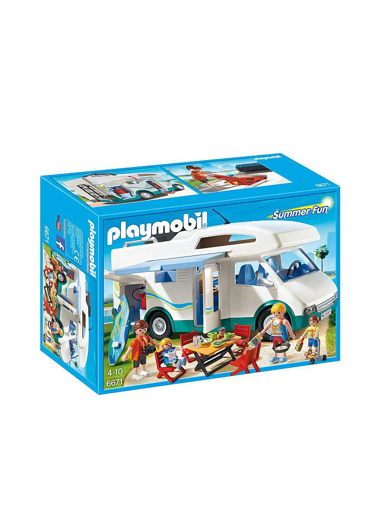 PLAYMOBIL | City Life - Familien Wohnmobil 6671 | transparent