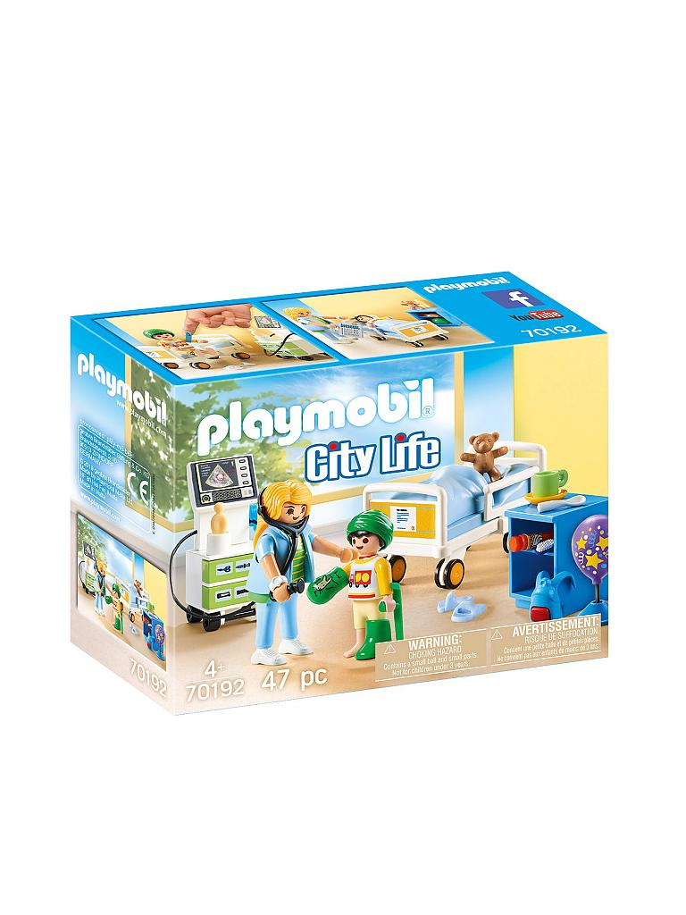 PLAYMOBIL | City Life - Kinderkrankenzimmer 70192 | transparent