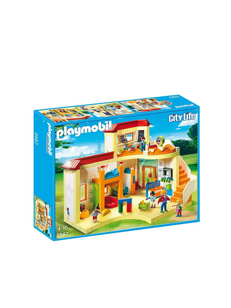 PLAYMOBIL | City Life - Kita Sonnenschein 5567 | transparent