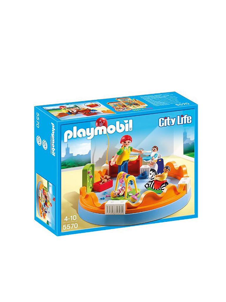 PLAYMOBIL | City Life - Krabbelgruppe 5570 | transparent