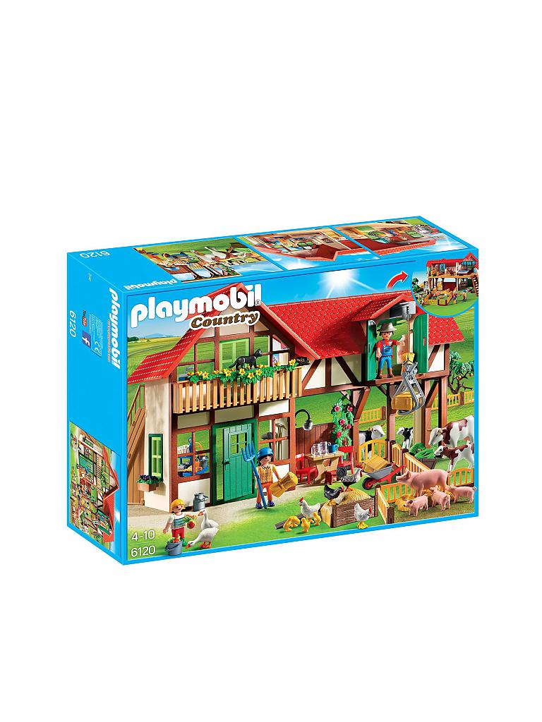 PLAYMOBIL | Country - Großer Bauernhof 6120 | transparent