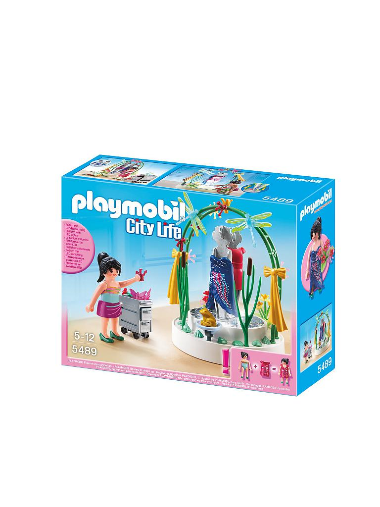 PLAYMOBIL | Dekorateurin mit LED-Podest | transparent