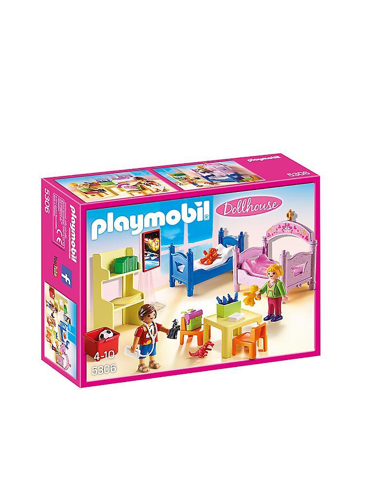 PLAYMOBIL Dollhouse - Buntes Kinderzimmer 5306 transparent