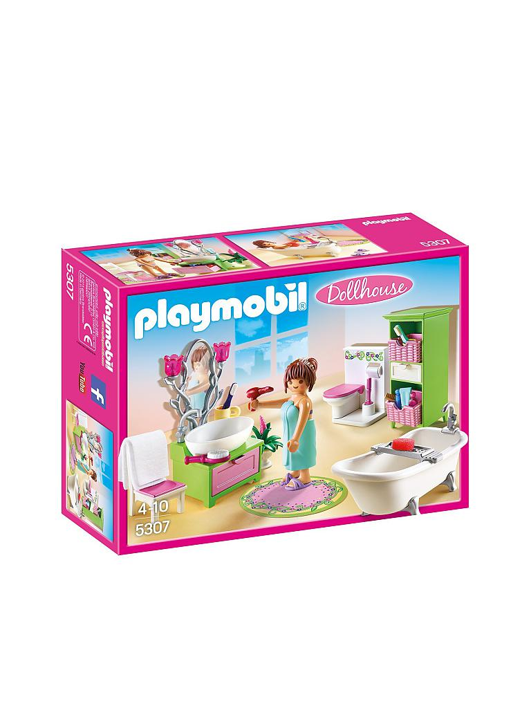 PLAYMOBIL | Dollhouse - Romantik Bad 5307 | transparent