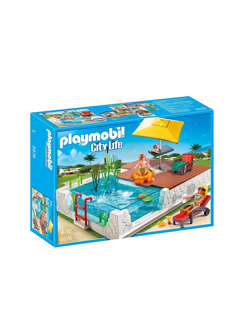 PLAYMOBIL | Einbau Swimmingppol | transparent