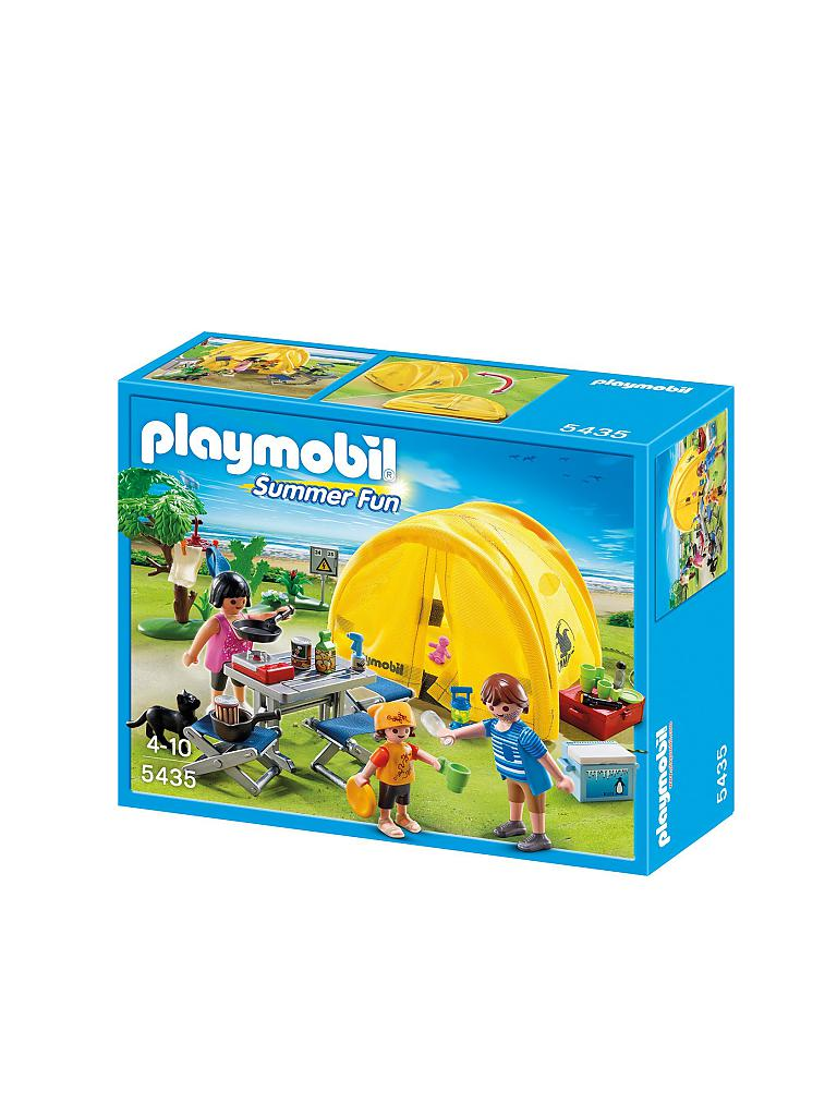 PLAYMOBIL | Familien-Camping | transparent