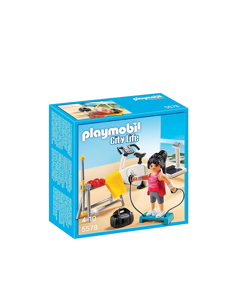 PLAYMOBIL | Fitnessraum | transparent