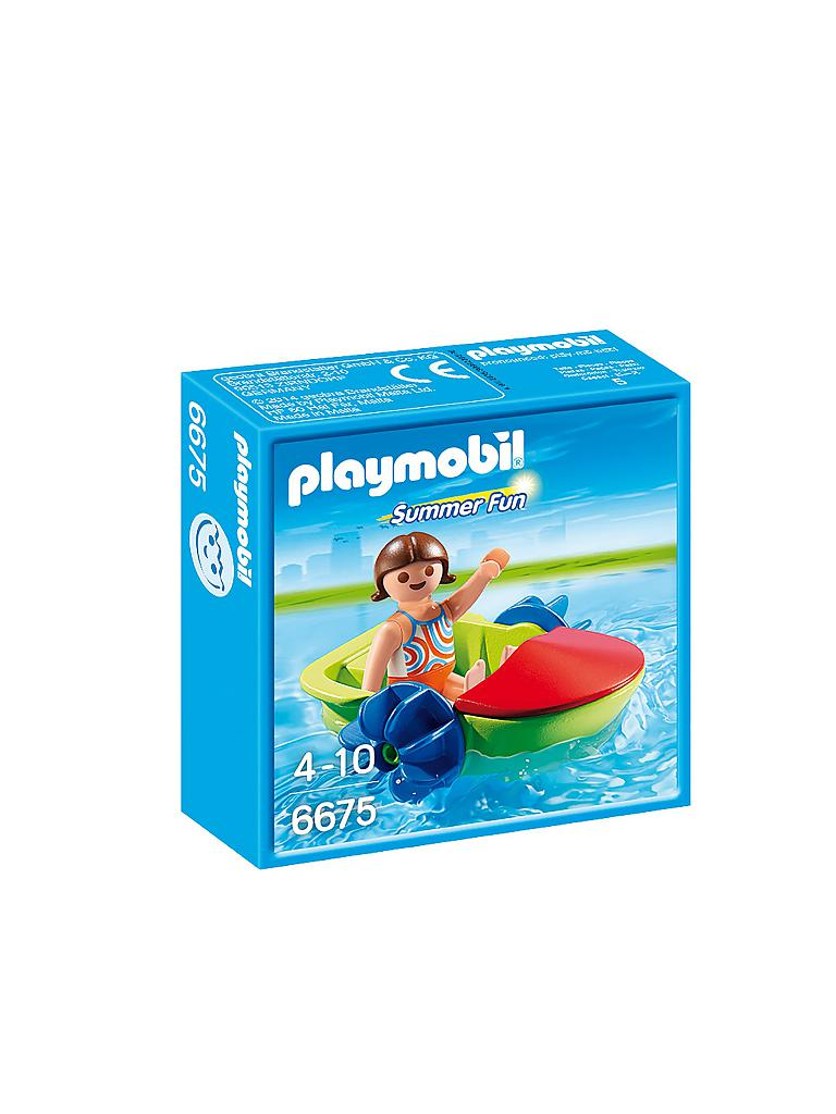 PLAYMOBIL | Fun Boot | transparent