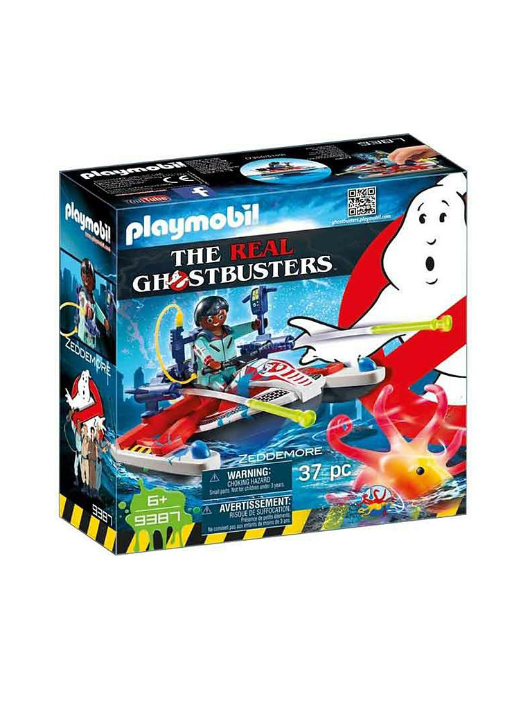 PLAYMOBIL | Ghostbusters - Zeddemore mit Aqua Scooter 9387 | transparent