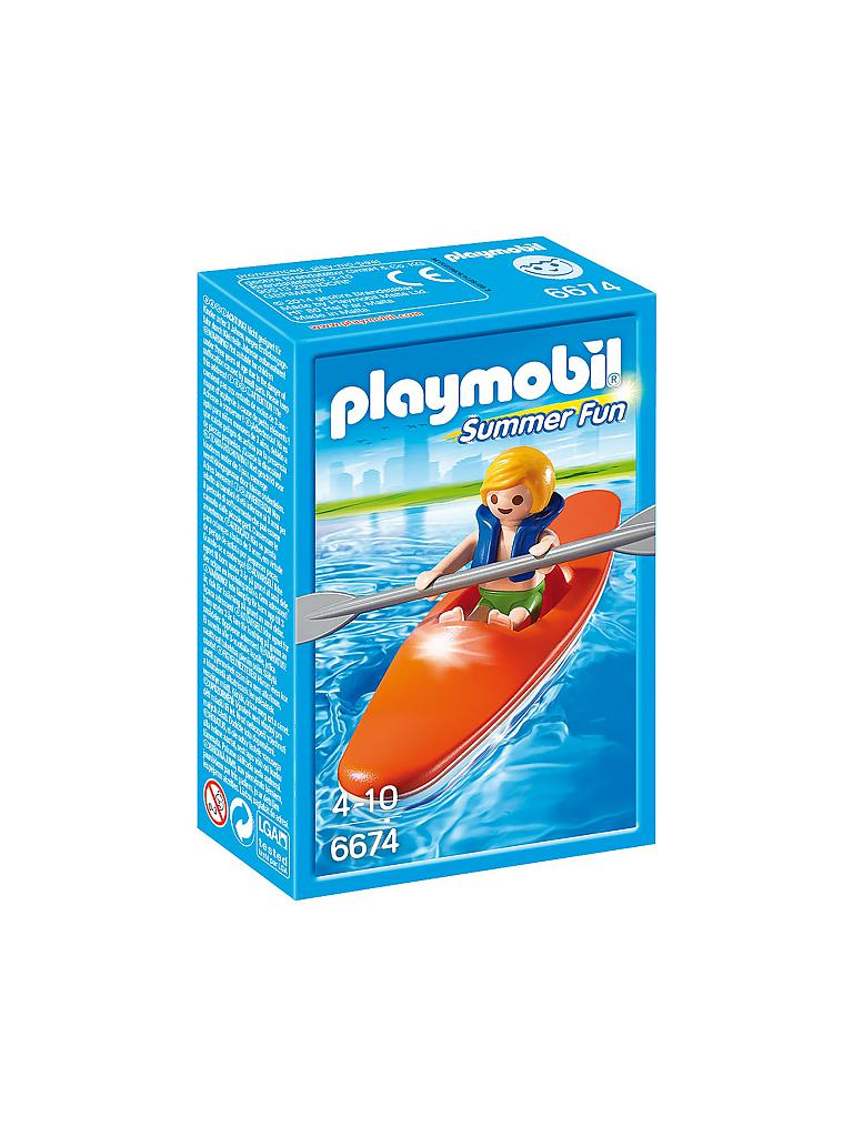 PLAYMOBIL | Kinder Kajak | transparent