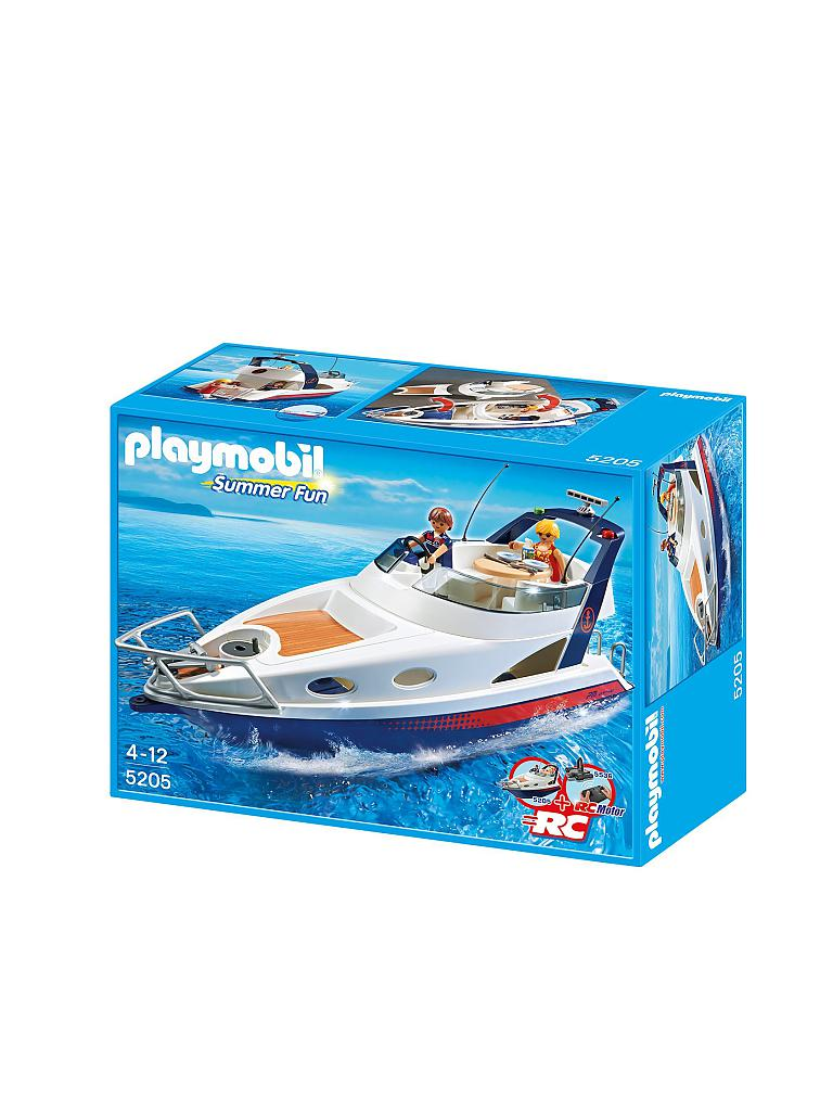 PLAYMOBIL | Luxusyacht | transparent