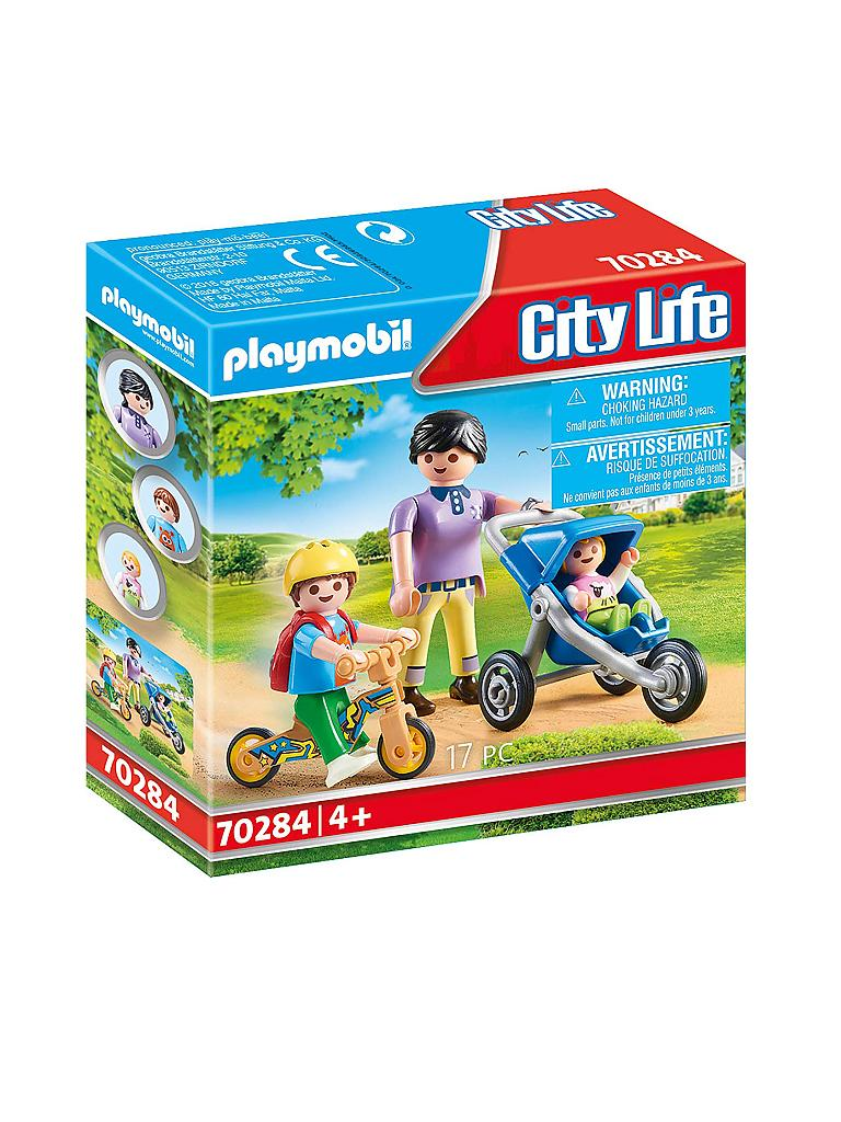 PLAYMOBIL | Mama mit Kindern 70284 | transparent