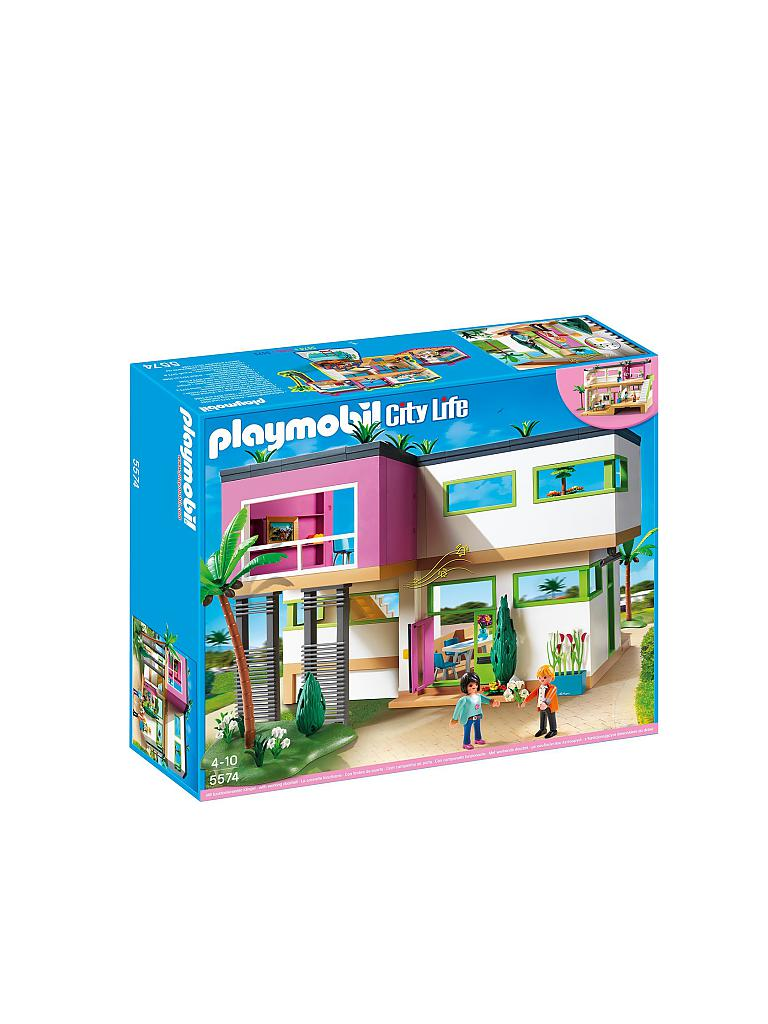 PLAYMOBIL | Moderne Luxusvilla | transparent