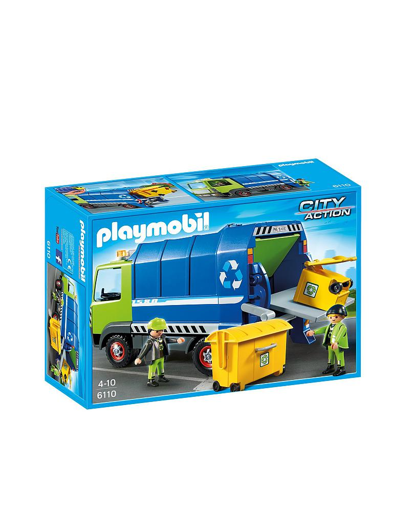PLAYMOBIL | Neuer Recycling Truck | transparent