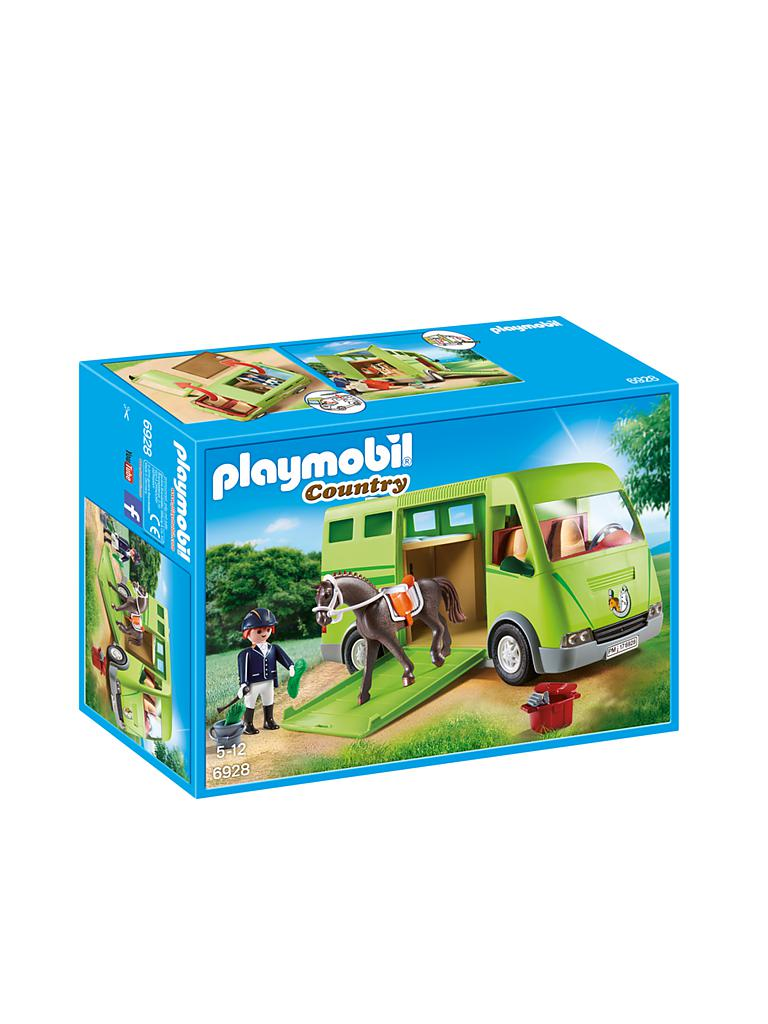 PLAYMOBIL | Pferdetransporter 6928 | transparent