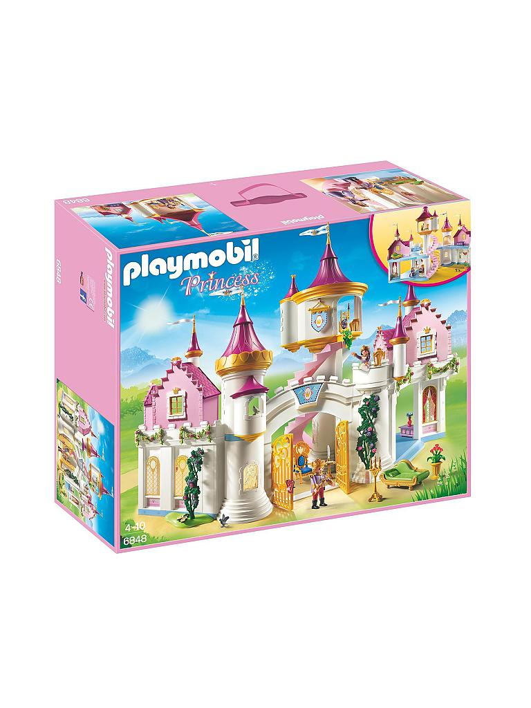 Playmobil princess prinzessinnenschloss 6848 transparent for Playmobil chambre princesse