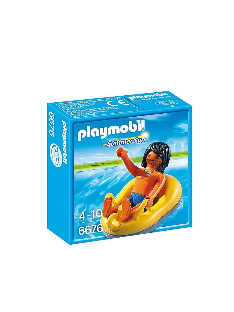 PLAYMOBIL | Rafting Reifen | transparent