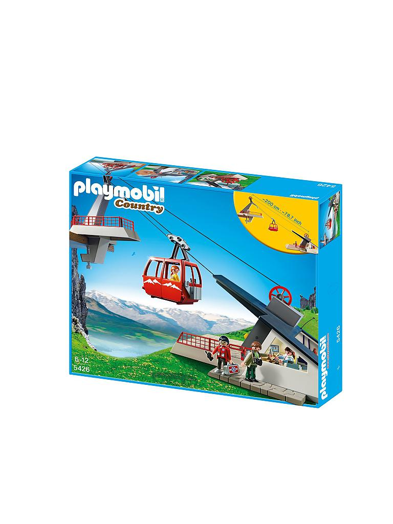 PLAYMOBIL | Seilbahn mit Bergstation | transparent