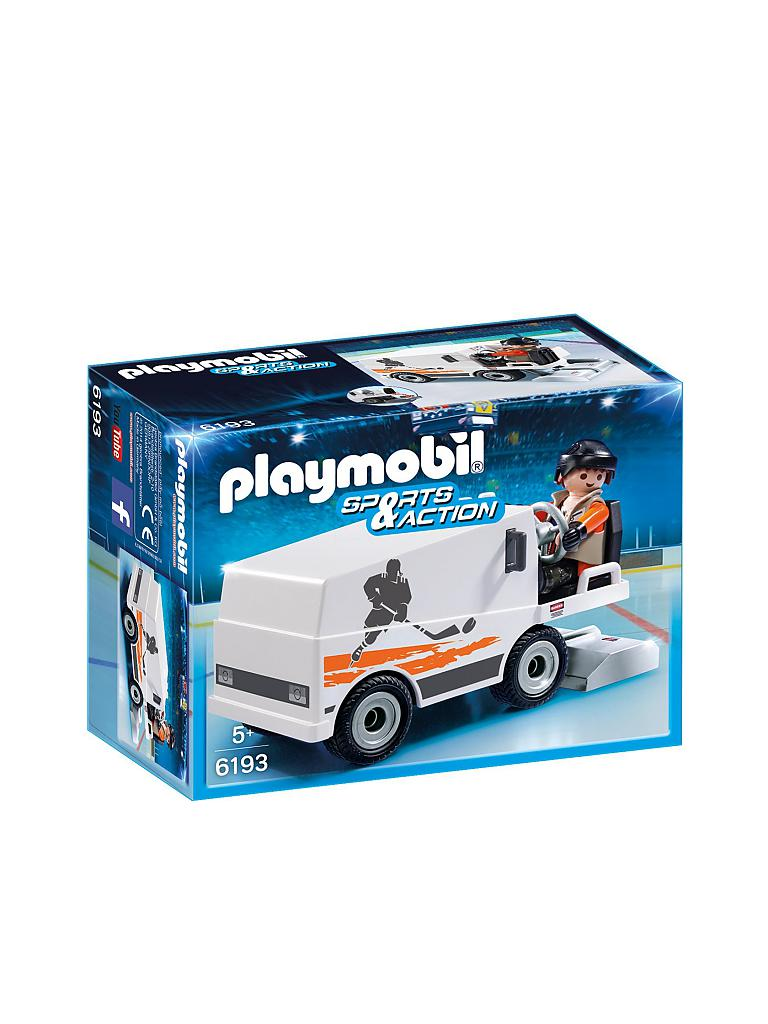 PLAYMOBIL | Sports & Action - Eisbearbeitungsmaschine 6193 | transparent